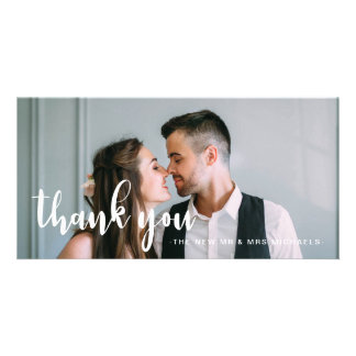 Simple and Sweet Wedding Thank You Card