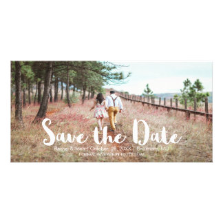 Simple and Whimsical Save the Date Card