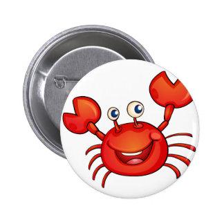 simple animal 6 cm round badge