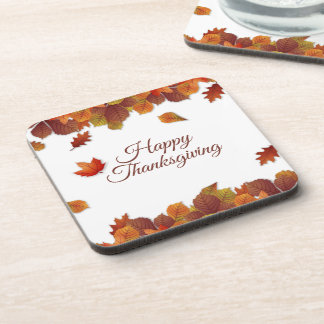 Simple Autumn Leaves Thanksgiving | Coaster