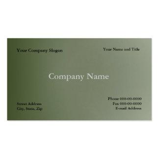 Simple Basic Business Card