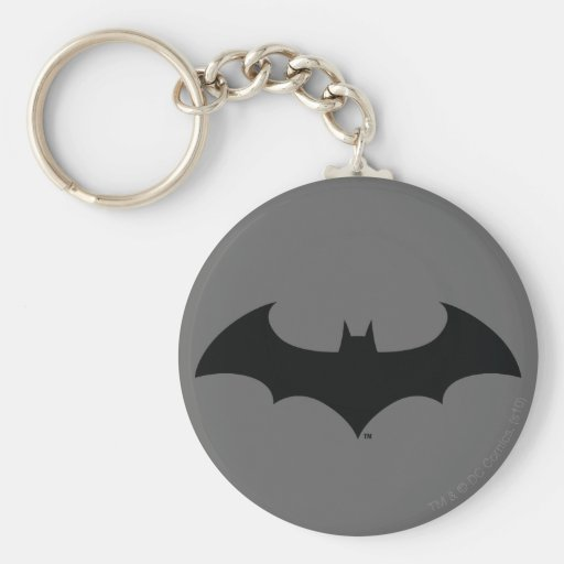 Simple Bat Silhouette Key Chain