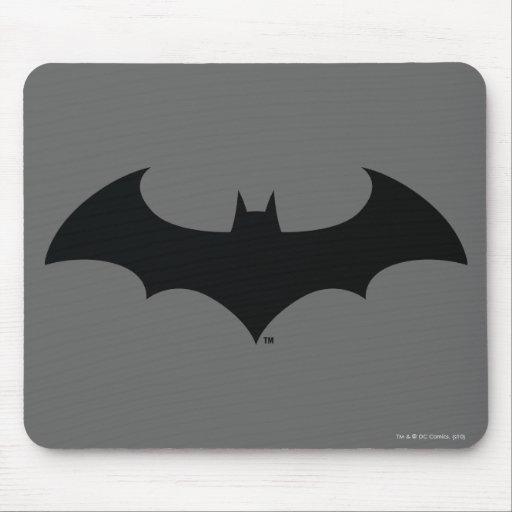 Simple Bat Silhouette Mousepads