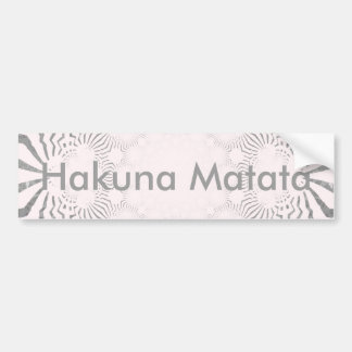 Simple Beautiful amazing soft white pattern design Bumper Sticker