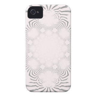 Simple Beautiful amazing soft white pattern design iPhone 4 Case-Mate Cases