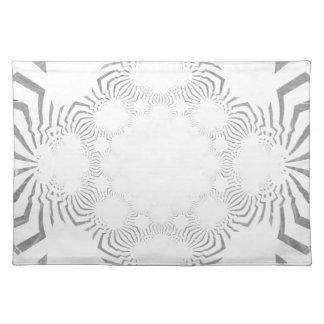Simple Beautiful amazing soft white pattern design Placemat