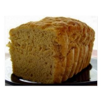 Simple Beer Bread Recipe Postcard