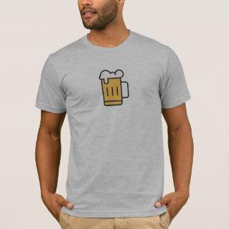Simple Beer Mug Icon Shirt