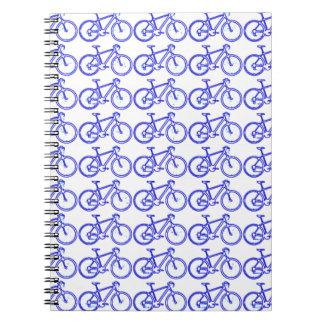 simple bike pattern notebooks