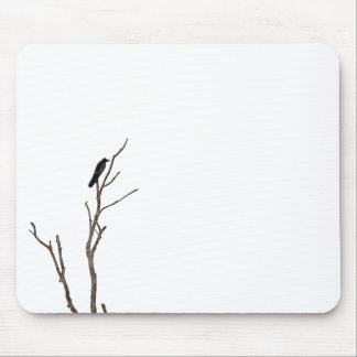 Simple Bird on a Branch | Mousepad