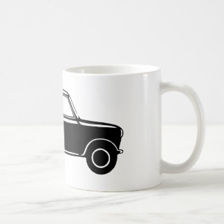 Simple Black Mini Coffee Mug