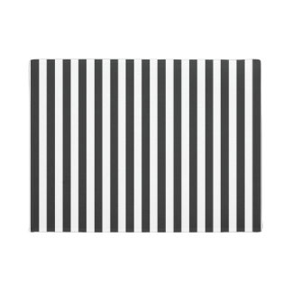 Simple Black Stripes on any Color Doormat