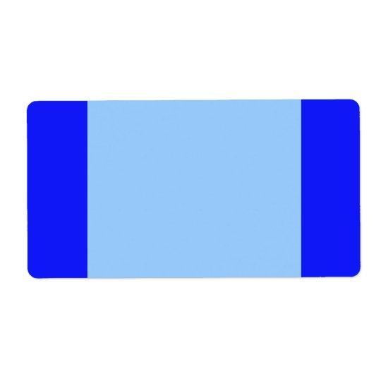 simple blue