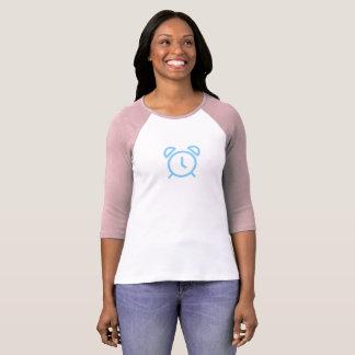 Simple Blue Alarm Icon Shirt