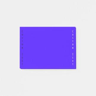 Simple Blue/Indigo Post-it Notes