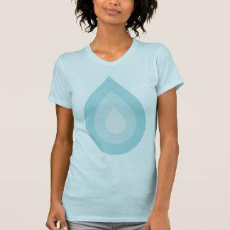 Simple Blue Water Drop Shirt