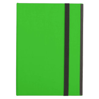 simple bright green colour case for iPad air