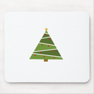 Simple But Beautiful Christmas Tree Mouse Pad