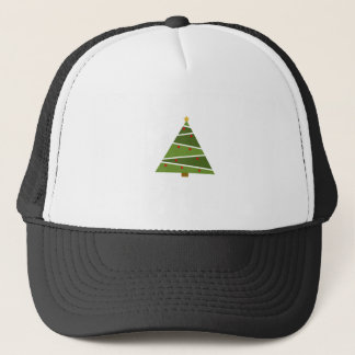 Simple But Beautiful Christmas Tree Trucker Hat