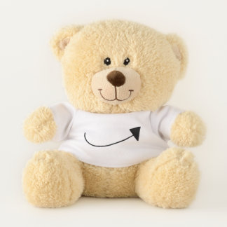 Simple but Cute Teddy Bear Gift for Girls