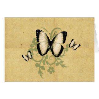 Simple Butterfly's Greeting Card