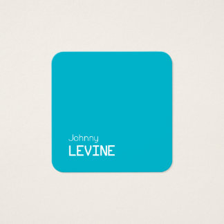 Simple button app icon shape square business card