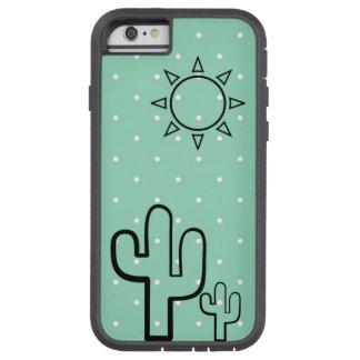 Simple Cactus Mint Green Dots Summer Iphone 6 Case