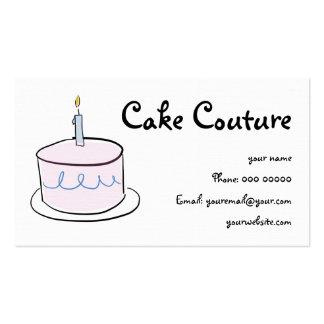 Simple Cake Business card