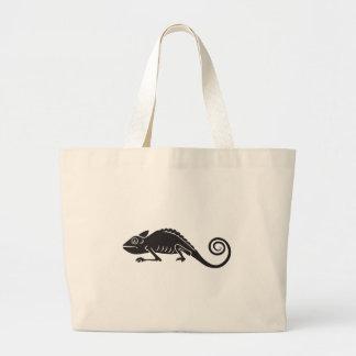 simple chameleon large tote bag