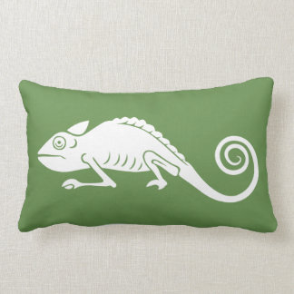 simple chameleon lumbar cushion