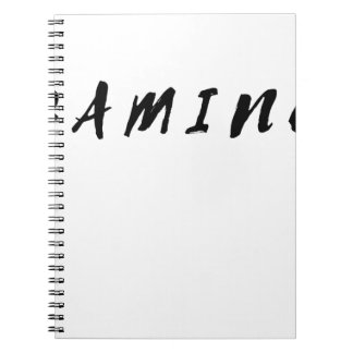 Simple Clean Gamer Gaming Black Text Notebooks