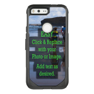 Simple Click and Replace Image to Make Your Own OtterBox Commuter Google Pixel Case