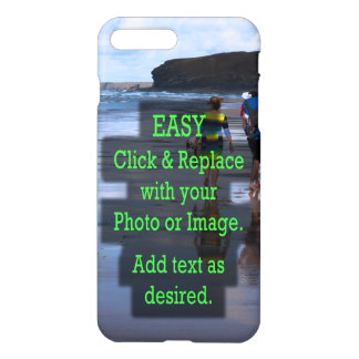 Simple Click and Replace Photo to Create Your Own iPhone 8 Plus/7 Plus Case