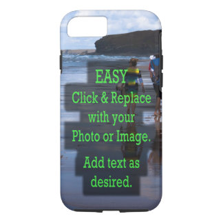 Simple Click and Replace Photo to Make Your Own iPhone 8/7 Case