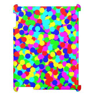 Simple Colorful Fun Dot Design iPad Cover