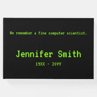 Simple Computer Scientist Condolences Guestbook