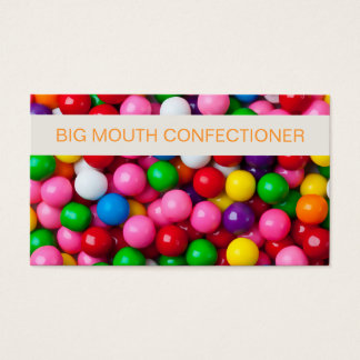 Simple Confectionery Supply Business Card