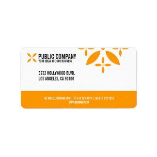 Simple Corporate Return Address Labels