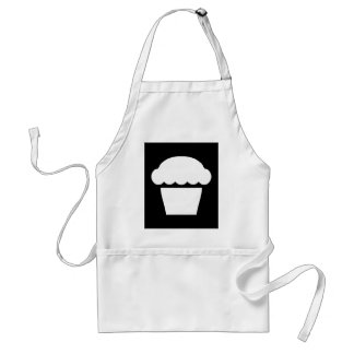 simple cupcake / muffin standard apron