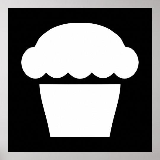 simple cupcake poster