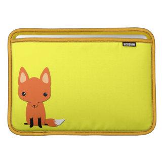 Simple Cute fox MacBook Sleeves