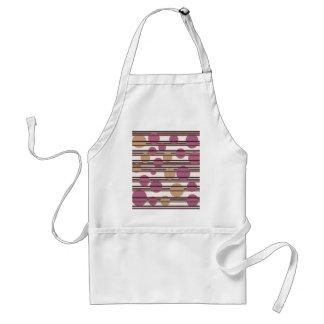 Simple decorative pattern standard apron