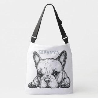 Simple Dog Crossbody Bags