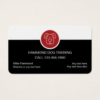 700 dog training business cards and dog training business for Dog trainer business card