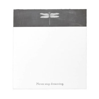 Simple Dragonfly Nature Name Notepad