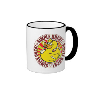 Simple Duck Ringer Mug