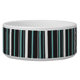 Simple elegant black blue striped stripes