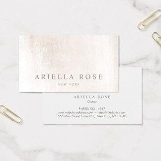 Simple Elegant Brushed White Marble Professional