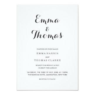 Simple Elegant | Modern Wedding Invitation