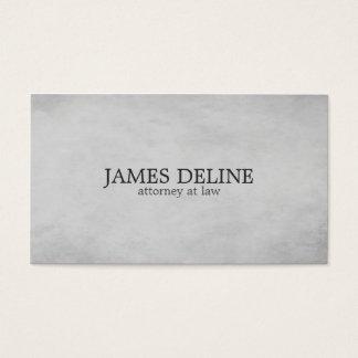 Simple Elegant Texture Grey Attorney at Law